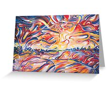 Colliers Sunset Greeting Card