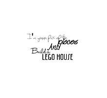 ed sheeran // lego house by evaab