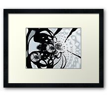 Micro organisms Framed Print