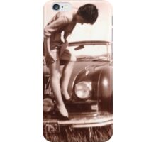 Memories of the Fifties [Austin A 90 ]1948 model ? iPhone Case/Skin