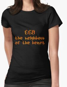 668 Womens Fitted T-Shirt