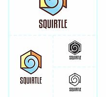 Squirtle Logo Study by newbzter