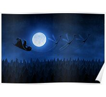 Christmas: Santa Flying 2 Poster