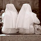 Nuns on Luchbreak by Andreas Braun
