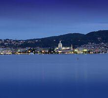 Blue Evening, Lake Como by Andreas Braun