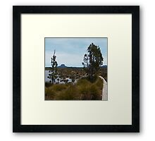 Barn Bluff in the Distance Framed Print