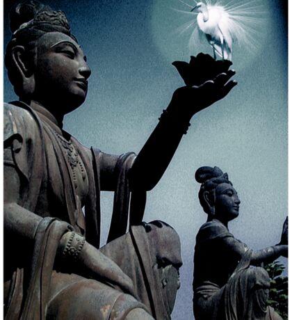 Buddha teaching Sticker