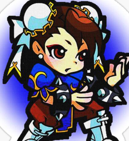 Puzzle Spirit: Chun-li Sticker