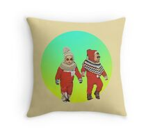 BABY THUGS. Throw Pillow