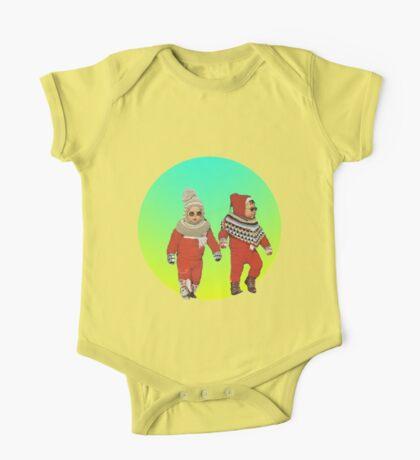 BABY THUGS. One Piece - Short Sleeve