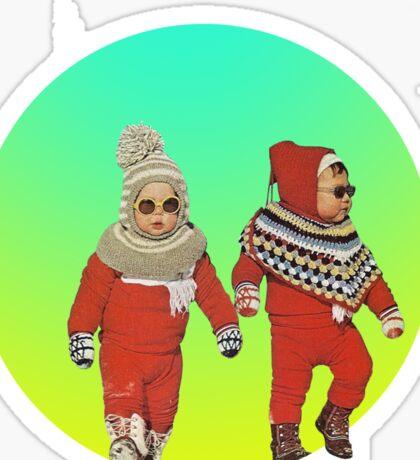BABY THUGS. Sticker