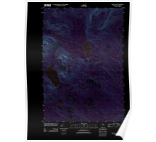 Maine USGS Historical Map Silver Lake 20110831 TM Inversion Poster