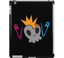 Skull with baby diaper nappy safety pins iPad Case/Skin