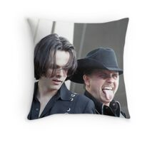 "John Rich & Guitar Player Of ""Big & Rich"" - Baltimore, MD 05/10/08 - Ravens Stadium Throw Pillow"