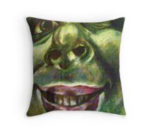 Naughty But Nice Throw Pillow