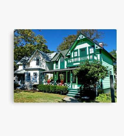 Gingerbread House Canvas Print