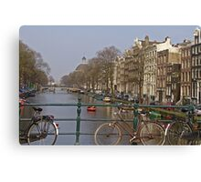 Bicycles Everywhere Canvas Print