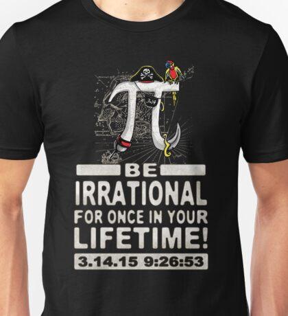 Irrational Pi Day Pirate Unisex T-Shirt