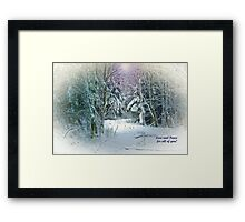 Love and Peace for All of You!!! Framed Print