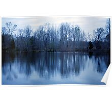 Predawn Reflections Poster