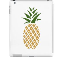 Pineapple (one) iPad Case/Skin