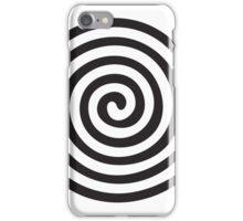The eye bender rough spiral iPhone Case/Skin