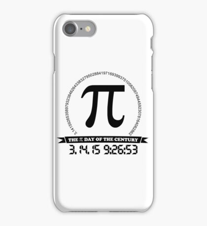 2015 Ultimate Pi day of the century iPhone Case/Skin