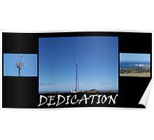 Dedication Poster
