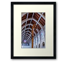 Crosier Under Arches Framed Print