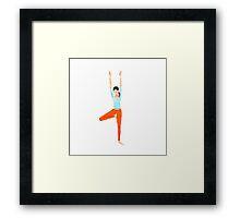 yoga 1 Framed Print