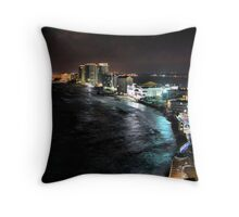 Cancun Nights Throw Pillow