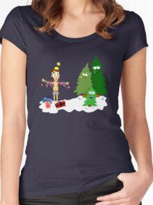 Christmas Revenge Women's Fitted Scoop T-Shirt