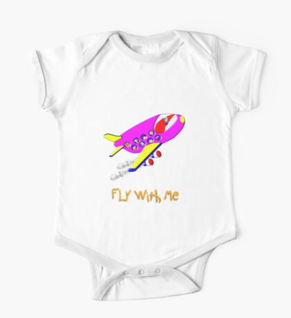 Fly With Me T-shirt, etc. design One Piece - Short Sleeve