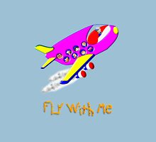 Fly With Me T-shirt, etc. design Womens Fitted T-Shirt