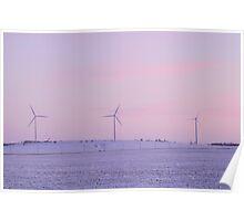 Pastel Prairies Poster