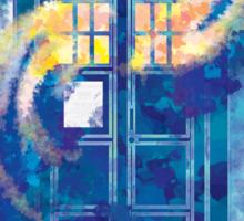 TARDIS Doctor Who Police Box Sticker