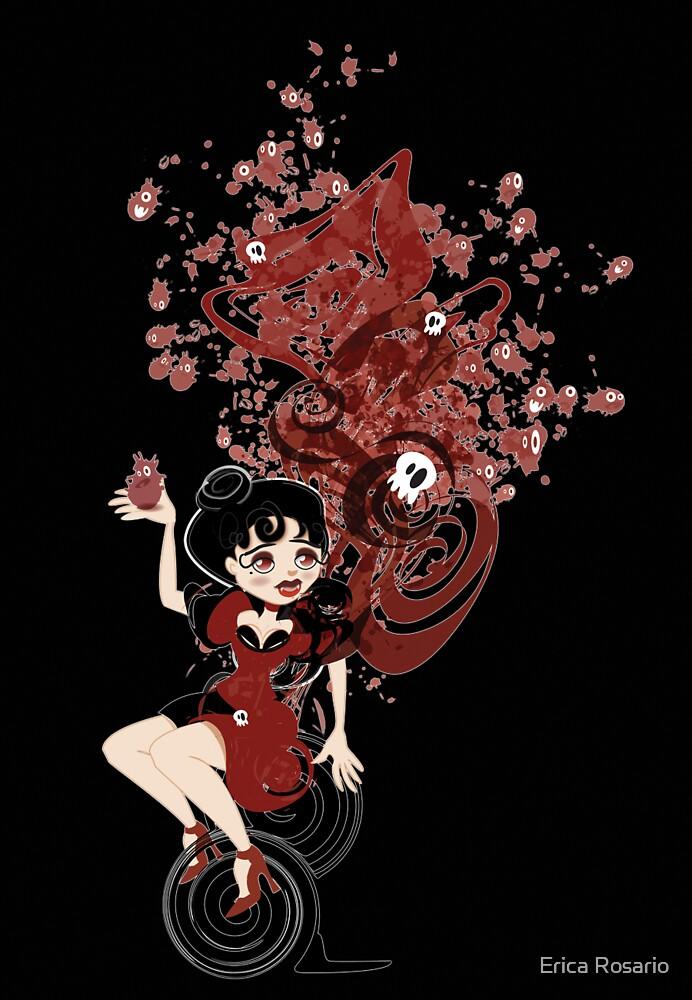 Cute Vampire & Her Minions by Erica Rosario