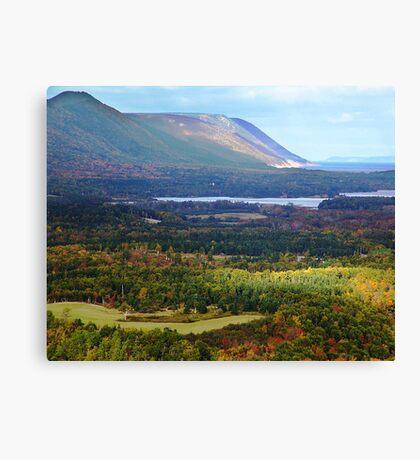Sunrise Valley, Cape Breton Island Canvas Print