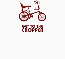 Get to the chopper (red) Unisex T-Shirt
