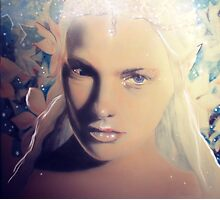 Snow elf Photographic Print