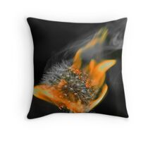 Desaturated Throw Pillow