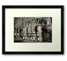 Final Resting Place Framed Print