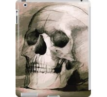 Hand drawing scull iPad Case/Skin