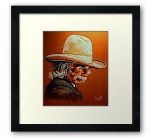 Mr Hornsbee Framed Print