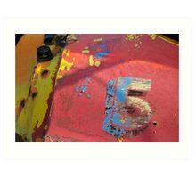 5 Art Print