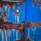 Dripping on Blue by ralarcon