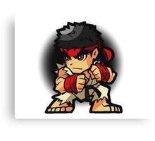 Puzzle Spirit: Ryu Canvas Print