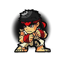 Puzzle Spirit: Ryu Photographic Print