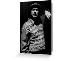 Actor - Noel Thompson Greeting Card