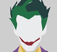 Minimalist Joker by hispurplegloves
